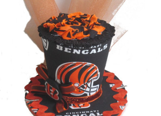 Cincinnati Bengals Mini Top Hat