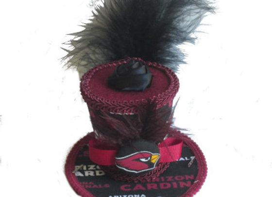Arizona Cardinals Mini Top Hat