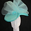 Thumbnail: Marilyn (Turquoise Fascinator)