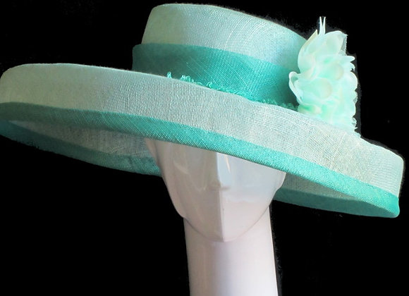 Theresa (Mint Derby Hat)