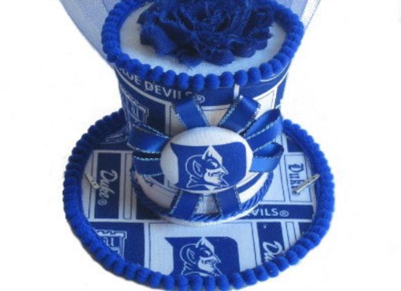 Duke Blue Devils Mini Top Hat