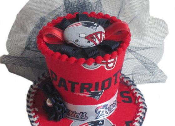 New England Patriots Mini Top Hat