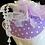 Thumbnail: Marsha (Purple Polka Dot Fascinator)