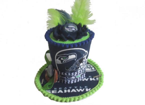 Seattle Seahawks Mini Top Hat
