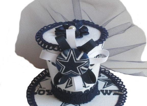 Dallas Cowboys Mini Top Hat