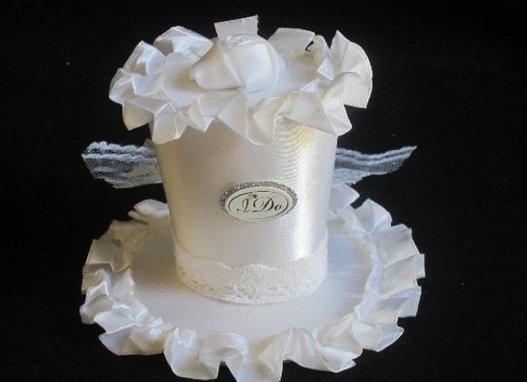 Bridal Shower Mini Top Hat (I DO)
