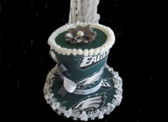Philadelphia Eagles Mini Top Hat