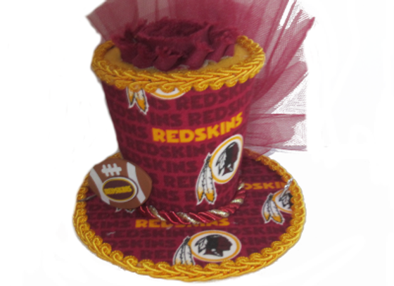 Washington Redskins Mini Top Hat