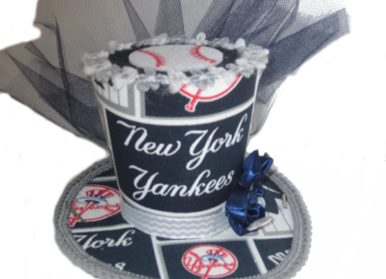 New York Yankees Mini Top Hat