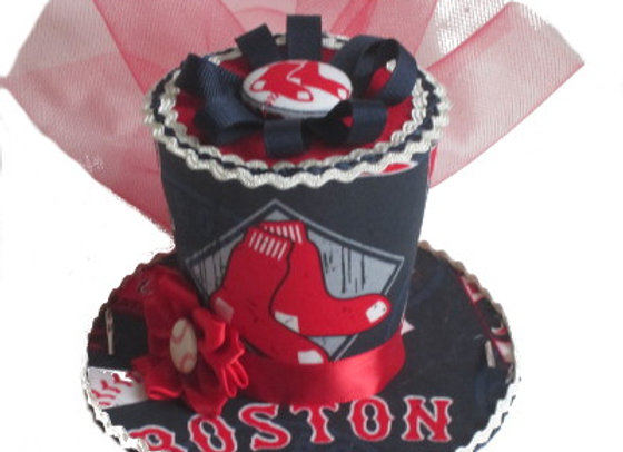 Boston Red Sox Mini Top Hat
