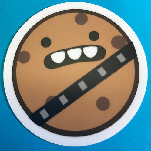 Wookie Cookie Emote Sticker