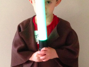 """Jedi Robes, or """"How I desire to be the best mother ever to a 5 year old boy"""""""