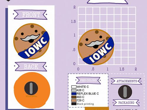PRE-ORDER - IOWC Member Pin