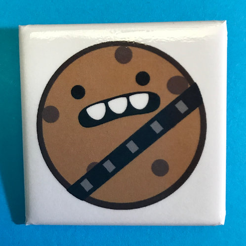 Wookie Cookie Square Pin