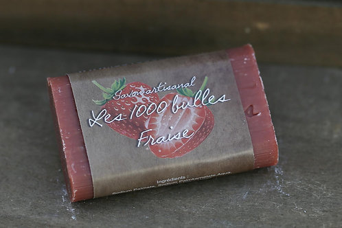 Savon parfumé Fraise 95gr