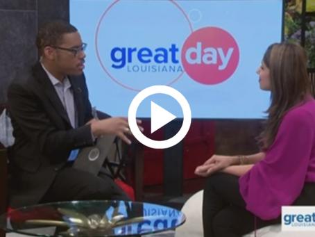 Dr. Vyas Shares Sleep Tips on Great Day Louisiana