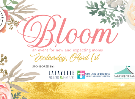 2020 Bloom - Save The Date!
