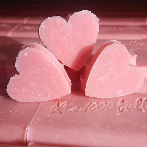 Savon cœur parfumé pomme d'amour 10gr