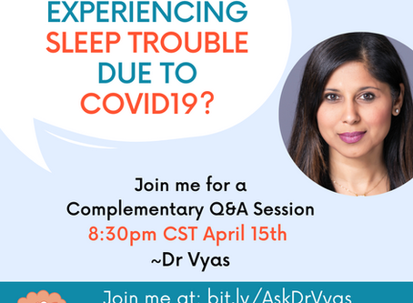 Complementary Q&A With Dr. Vyas