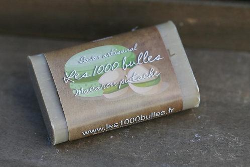 Savon parfumé Macaron pistache 95gr