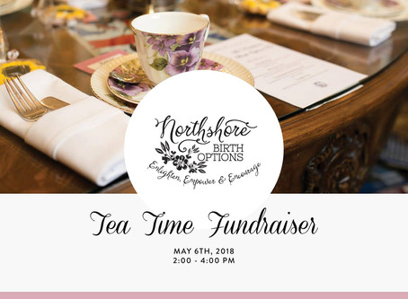 Visit with Dr Vyas at the Northshore Birth OptionsTea Time Fundraiser