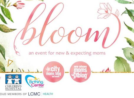 2019 New Orleans Moms Blog Bloom Event