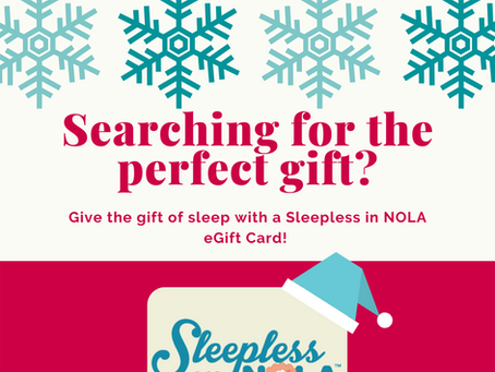 Give the gift of sleep!