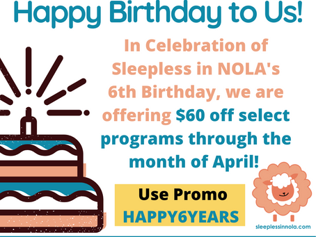 $60 Off Select Sleepless In NOLA Programs