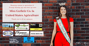 Miss Guthrie Co. Ia United States Agricu