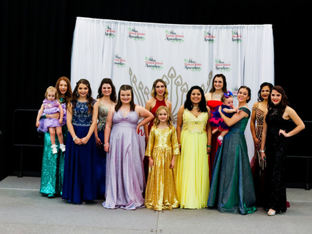 Texas State Pageant Results