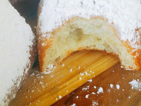 Vegan Baked (or Fried) Beignets