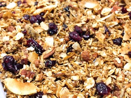Semi-Healthy Granola