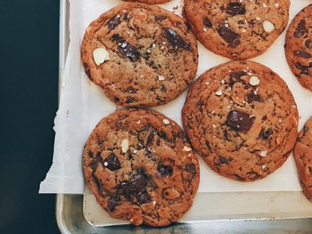 Chocolate Chunk Miso Almond Cookies