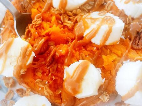 -Stuffed Sweet Potato-