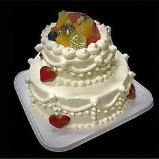 デコレーションケーキ(2段)