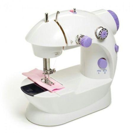 ماكينة خياطة كهربائية قابلة للحمل تعمل بالبطارية