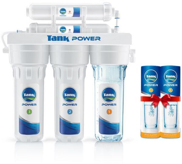 فلتر مياه باور - تانك - 5 مراحل