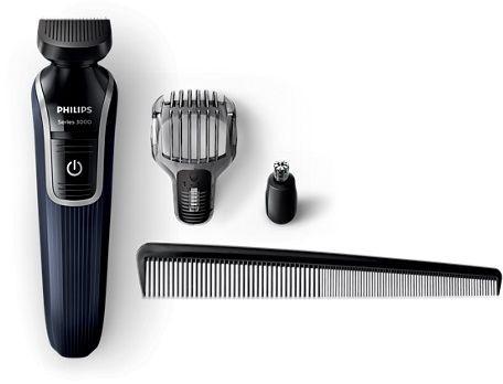 ماكينة الحلاقة والشفرات - فيليبس - QG3322