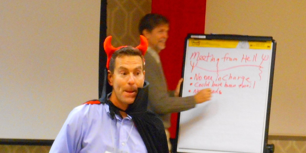 Creating Fabulous Meetings (or, How to Avoid Meetings from Hell)
