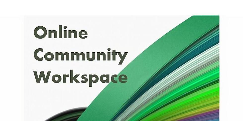 Online Community Workspace: Story-based Marketing