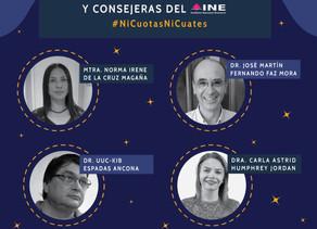 Nuevos  Consejeros del INE.