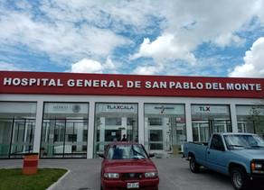 Hospital General de San Pablo del Monte, Tlax.