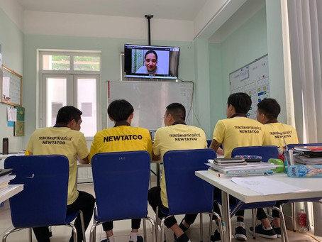 組合様主導の会話授業