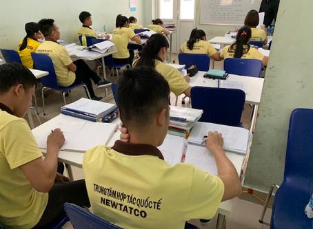 日越教師の共同授業