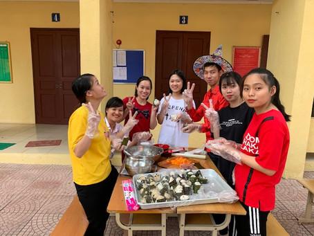 文化祭 女子の部。
