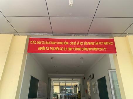 ベトナム政府より、学校閉鎖の指導