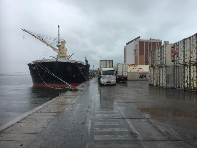 Empresa potiguar embarca 62 toneladas de atum e meca para a Espanha vencendo embargo do Ministério d