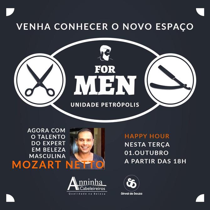 Anninha abre Espaço For Men
