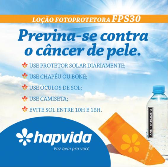 Hapvida Saúde realiza ação em alusão ao Dezembro Laranja