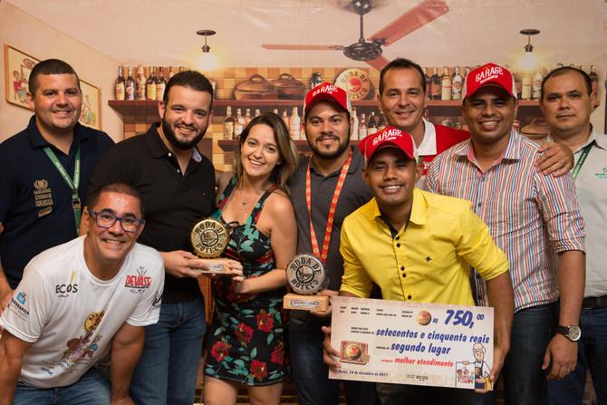 Garage Car Wash e Bar, Cigarreira do Pernambuco e Meu Barraco Boteco Bistrô vencem na 1ª edição do R